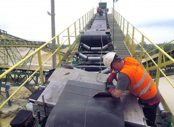 conveyor splicing